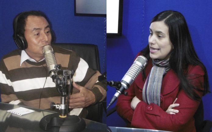 Gregorio Santos - Verónika Mendoza - Ideeleradio