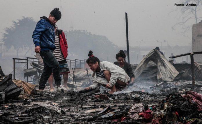 Incendio en Cantagallo - Ideeleradio.
