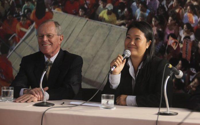 Keiko Fujimori - Pedro Pablo Kuczysnki