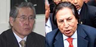 Alberto Fujimori - Alejandro Toledo - Ideeleradio - Foto-Congreso