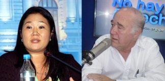 Keiko Fujimori - Víctor Andrés García Belaunde - Ideeleradio - Foto original: Congreso