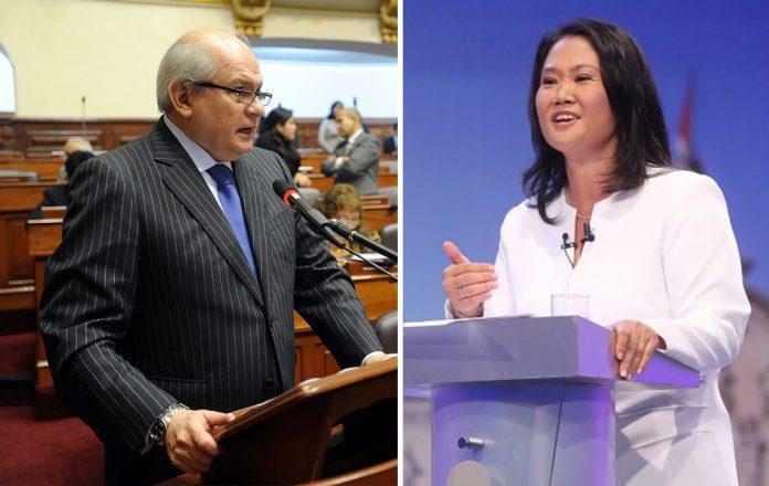 Pedro Cateriano - keiko Fujimori - Ideeleradio