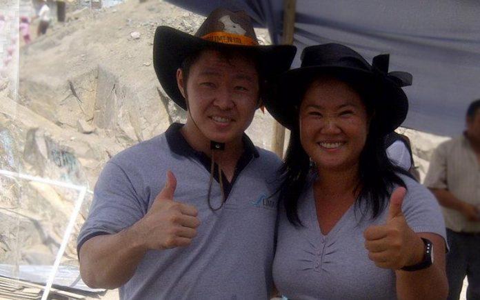 Kenji Fujimori - Keiko Fujimori - Ideeleradio 1 - Foto- Facebook-Keiko Sofia Fujimori Higuchi