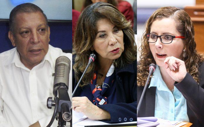 Marco Arana - Martha Chávez - Rosa Bartra - Ideeleradio - Foto: Congreso