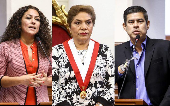 Cecilia Chacón - Luz Salgado - Luis Galarreta - Ideeleradio - Foto: Congreso