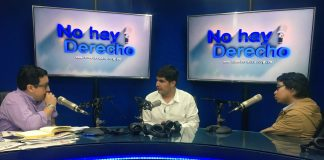 Glatzer Tuesta (Ideeleradio) - Fernando Ríos (El Panfleto) - Matheus Calderón (Altavoz)