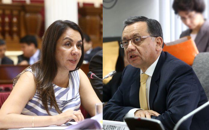 Marisol Espinoza - Edgar Alarcón - Ideeleradio - Foto: Congreso