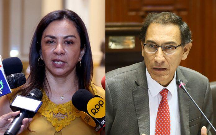 Marisol Espinoza - Martín Vizcarra - Ideeleradio - Foto: Congreso