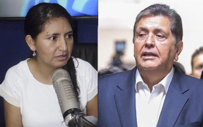 Tania Pariona - Alan García