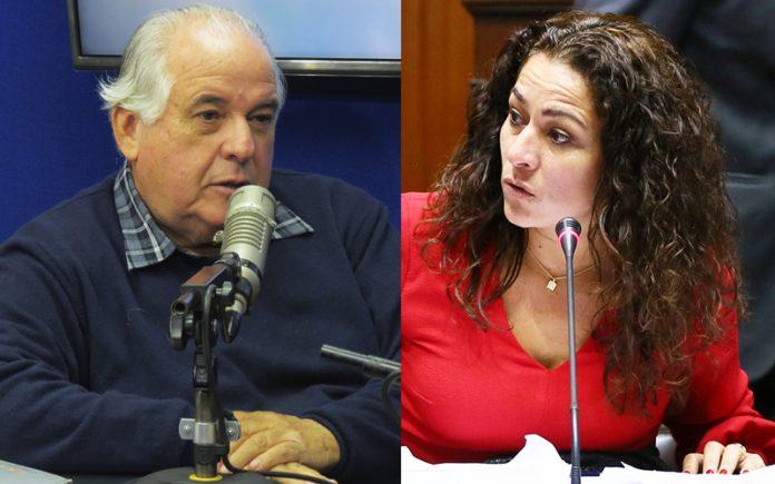 Alberto Borea - Cecilia Chacón - Ideeleradio Foto: Congreso