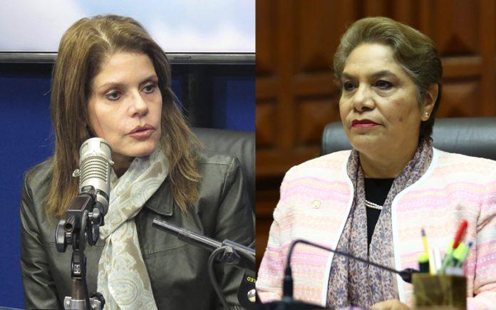 Mercedes Aráoz - Luz Salgado - Foto: Ideeleradio - Congreso
