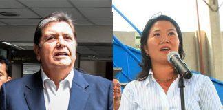 Alan García - Keiko Fujimori - Foto: Congreso - Facebook