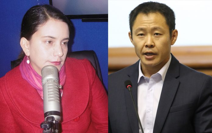 Verónika Mendoza - Kenji Fujimori - Ideeleradio