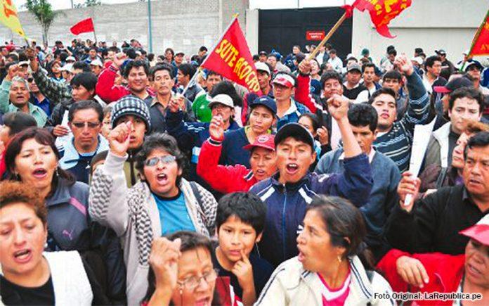 Huelga de maestros - La República