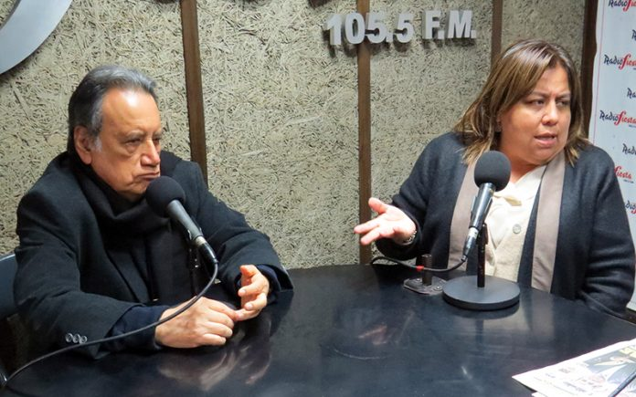 Sinsesio López y Giovanna Peñaflor - Ideeleradio