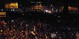 Marcha contra el indulto - Plaza Dos de Mayo - Ideeleradio
