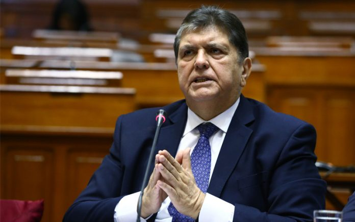 Alan García - Foto: Congreso