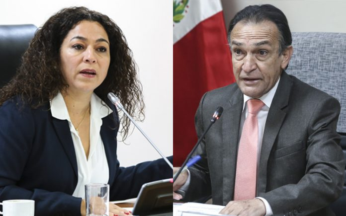 Cecilia Chacón - Héctor Becerril - Foto: Congreso