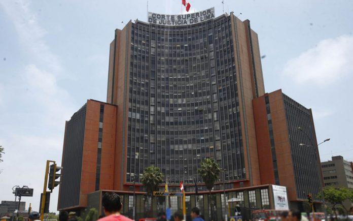 Corte Superior de Lima - Foto: Andina
