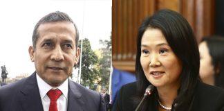 Ollanta Humala - Keiko Fujimori - Foto: Congreso