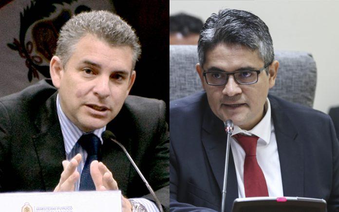 Rafael Vela - José Domingo Pérez - Foto: Fiscalía - Congreso