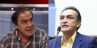 Yonhy Lescano - Héctor Becerril - Foto: Congreso