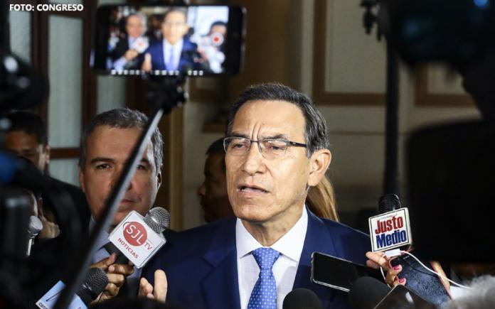 Martín Vizcarra - Foto : Congreso