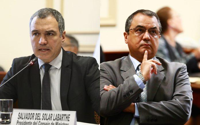 Salvador del Solar - Carlos Oliva - Foto: Congreso