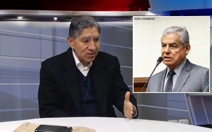 Avelino Guillén - César Villanueva - Foto: Congreso