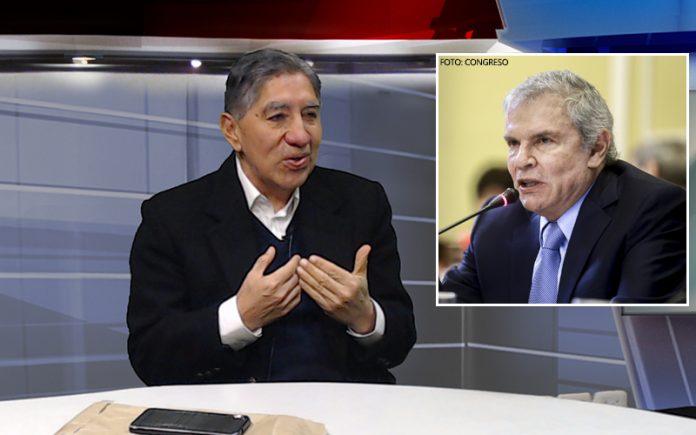 Avelino Guillén - Luis Castañeda - Foto: Congreso