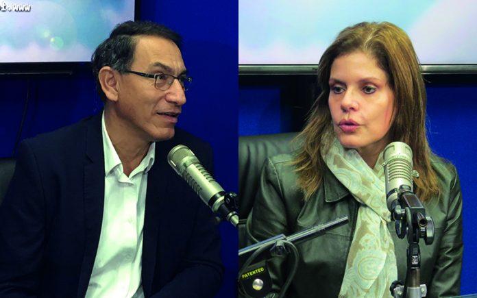 Martín Vizcarra - Mercedes Aráoz - Foto - Congreso