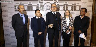 Mauricio Mulder - Elías Rodríguez - Jorge del Castillo - Luciana León - Javier Velásquez - Foto: Congreso