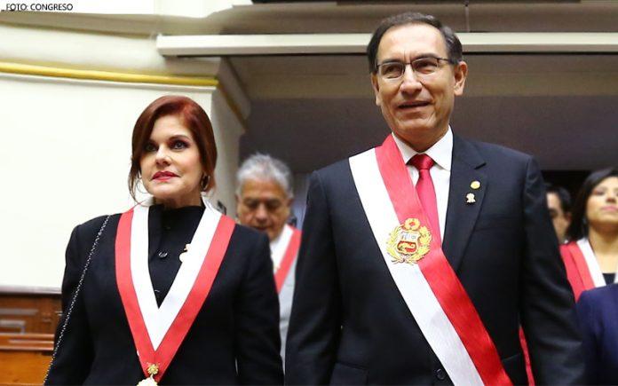 Mercedes Aráoz - Martín Vizcarra - Foto- Congreso