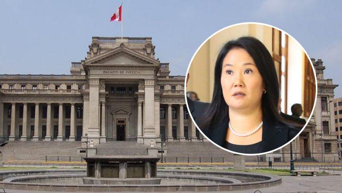 Palacio de Justicia (Foto: Poder Judicial) - Keiko Fujimori (Foto: Congreso)