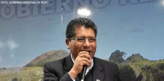 Walter Aduviri - Foto: Gobierno Regional de Puno