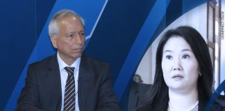 Aldo Vásquez - Keiko Fujimori (Foto: Congreso)