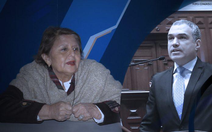 Carmen González - Salvador del Solar - Foto: Congreso