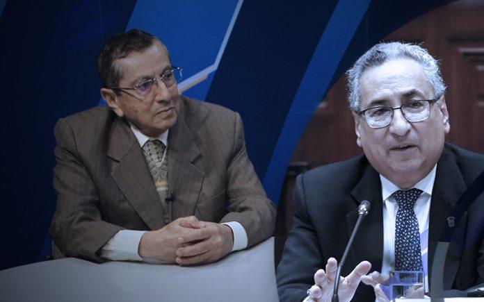 Víctor Cubas Villanueva - José Luis Lecaros (Foto: Congreso)