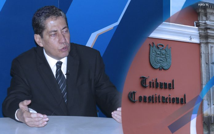 Eloy Espinosa-Saldaña - Tribunal Constitucional - Foto: TC