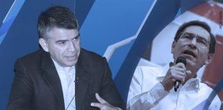 Julio Guzmán - Martín Vizcarra (Foto: PCM)