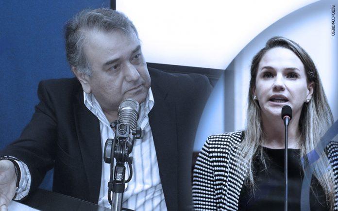 Luis Alberto Salgado - Luciana León (Foto: Congreso)