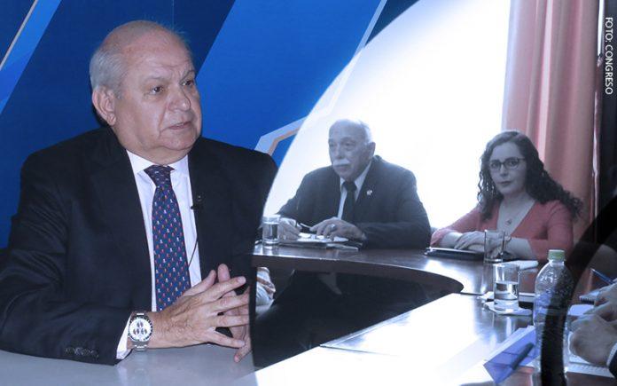 Pedro Cateriano - Carlos Tubino - Rosa Bartra (Foto: Congreso)