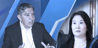 Avelino Guillén - Keiko Fujimori (Foto: Congreso)