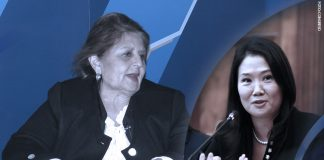 Carmen González - Keiko Fujimori (Foto: Congreso)