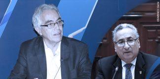 Diego García Sayán -José Luis Lecaros - (Foto: Congreso)