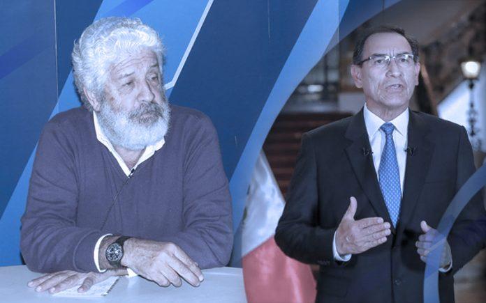 Eduardo Ballón - Martín Vizcarra (Foto: Presidencia)