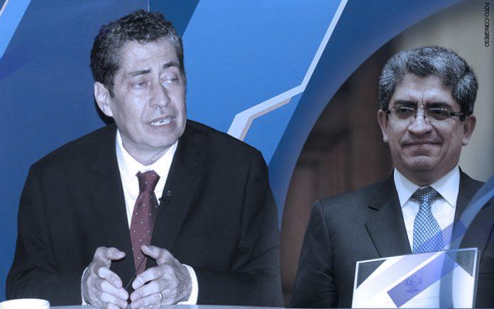 Eloy Espinosa Saldaña - José Luis Sardón - (Foto: Congreso)