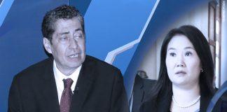 Eloy Espinosa-Saldaña - Keiko Fujimori- (Foto: Congreso)