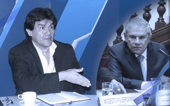 Javier Torres - Luis Castañeda (Foto: Congreso)
