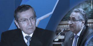 Víctor Cubas - José Luis Lecaros (Foto: Congreso)